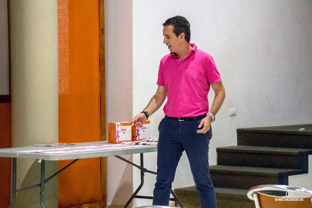 Fotos de la Charla Nutrición y Suplementación en el Deporte. CabraTrail de Puntallana 2017