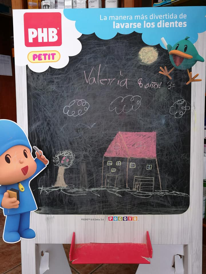 Concurso de Dibujo: Un hogar para Freddy · Farmacia Puntallana. La Palma. Islas Canarias.