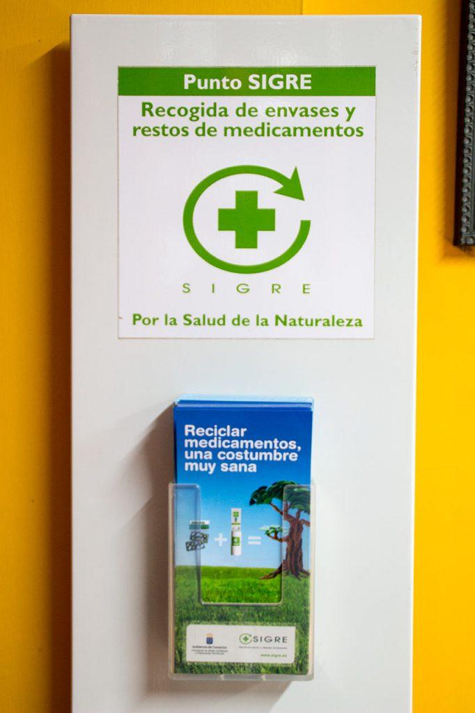 Recogida de Medicamentos Usados · Farmacia Puntallana · La Palma